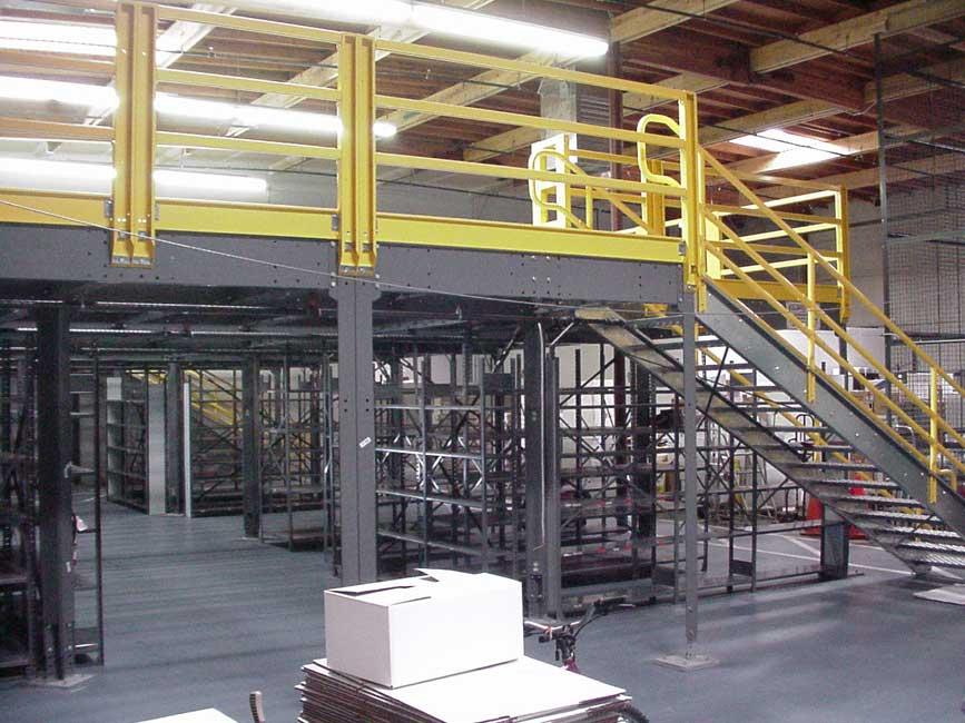 Equipment Storage Mezzanines : Mezzanines