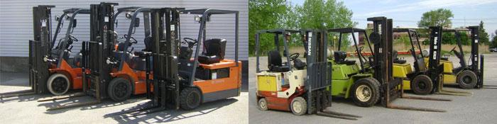 Forklifts Rentals