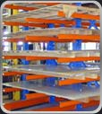 Structural-Cantilever Rack